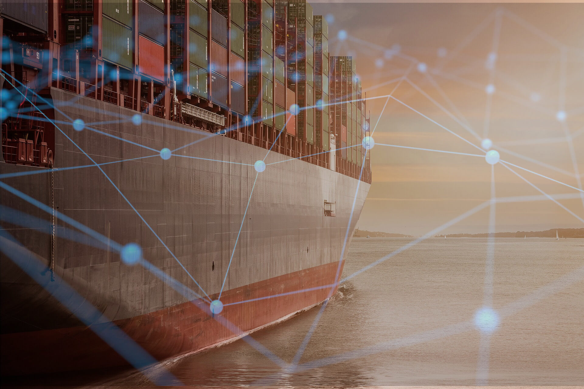 container ship blockchain